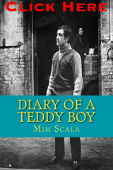 Diary of a teddy boy by Mim Scala